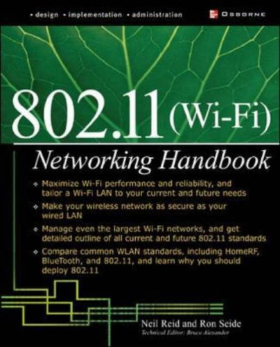 Wi-Fi (802.11) Network Handbook 9780072226232