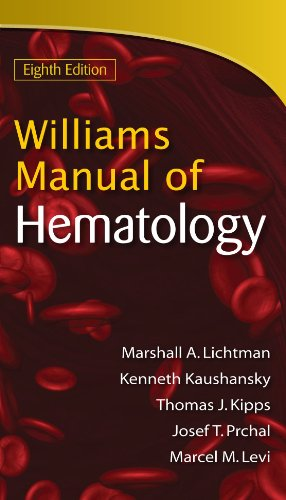 Williams Manual of Hematology 9780071622424