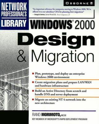Windows 2000 Design and Migration 9780072122053