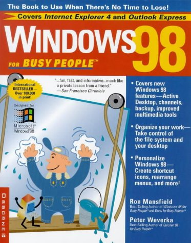 Windows 98 for Busy People 9780078823985