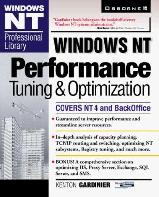 Windows NT Performance Tuning 9780078824968
