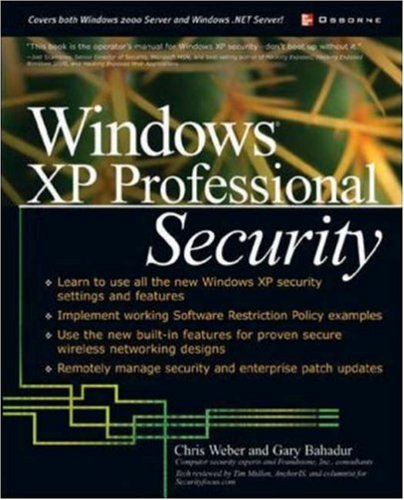 Windows XP Professional Security 9780072226027