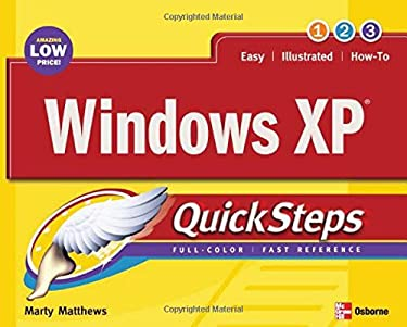 Windows XP Quicksteps 9780072232189