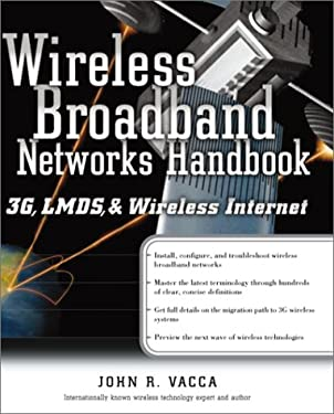 Wireless Broadband Networks: 3g, Lmds and Wireless Internet 9780072130317