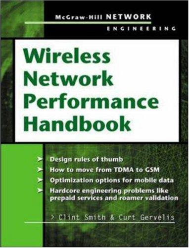 Wireless Network Performance Handbook 9780071406550