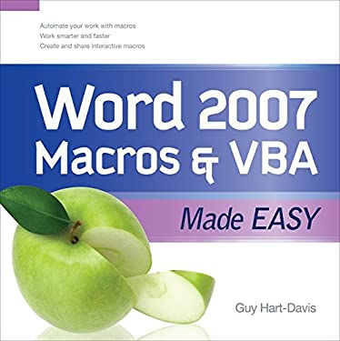 Word 2007 Macros & VBA Made Easy 9780071614795