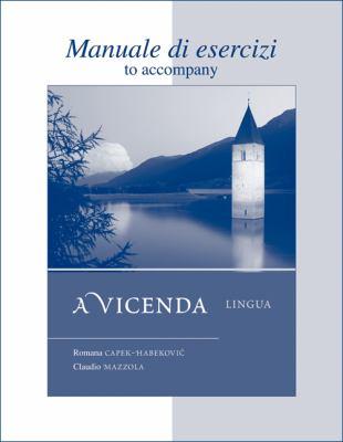 A Vicenda Manuale Di Esercizi: Lingua 9780073274379