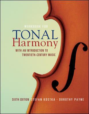 Workbook/Tonal Harmony - 6th Edition