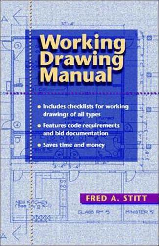 Working Drawing Manual 9780070615540