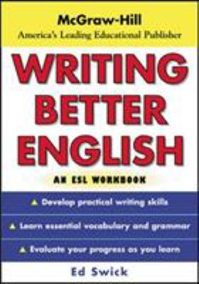 Writing Better English: An ESL Workbook 9780071426435