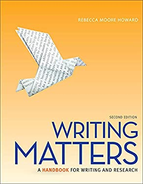Writing Matters, Tabbed Edition 9780077505974