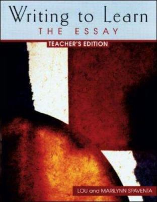 Writing to Learn 4: Teacher's Edition