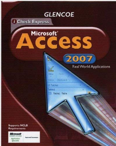 iCheck Express Microsoft Access: Real World Applications 9780078802669