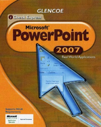 iCheck Express Microsoft PowerPoint: Real World Applications 9780078802676