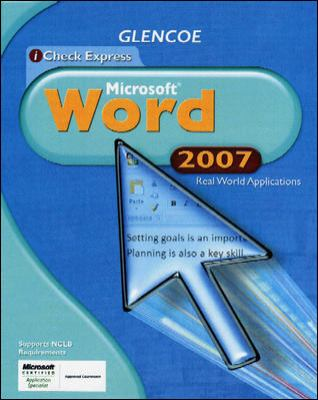 iCheck Express Microsoft Word: Real World Applications 9780078802645