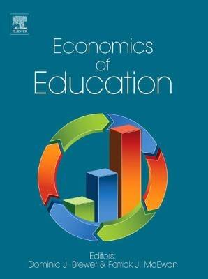 Economics of Education 9780080965307