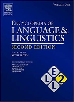 Encyclopedia of Language and Linguistics, 14-Volume Set: V1-14