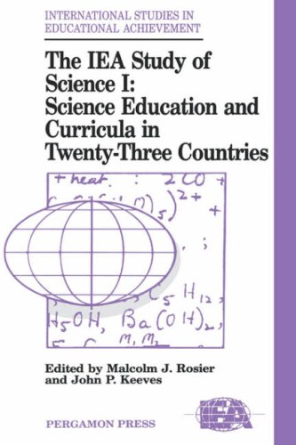 The Iea Study of Science: Science Education and Curricula in Twenty-Three Countries 9780080410340
