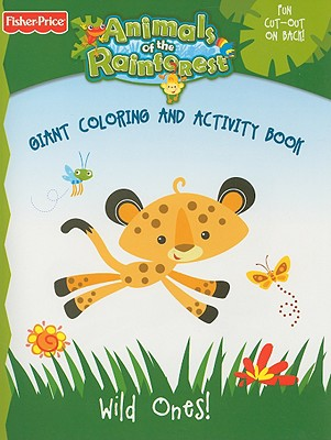 Wild Ones!: Giant Coloring and Activity Book