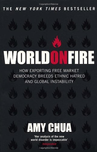 World on Fire: How Exporting Free Market Democracy Breeds Ethnic Hatred and Global Instability 9780099455042