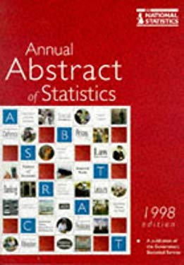 Annual Abstract of Statistics No. 134, 1998 9780116209658