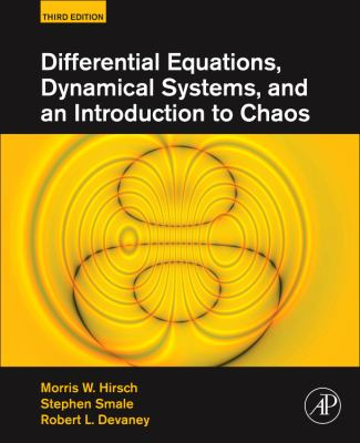 Differential Equations, Dynamical Systems, and an Introduction to Chaos 9780123820105