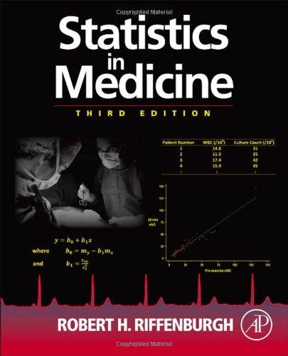 Statistics in Medicine 9780123848642