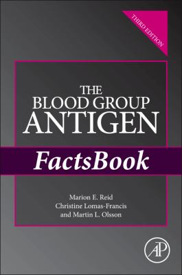 The Blood Group Antigen Factsbook 9780124158498