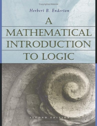 A Mathematical Introduction to Logic 9780122384523