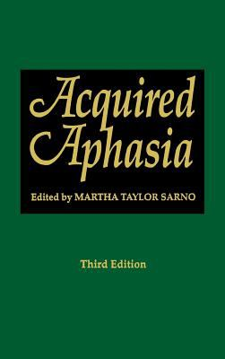 Acquired Aphasia 9780126193220
