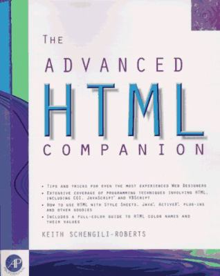 Advanced HTML Companion 9780126235401
