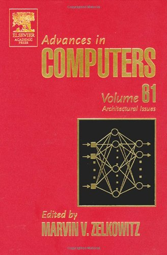 Advances in Computers: Architectural Issues 9780120121618