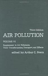 Air Pollution: Supplement to Air Pollutants, Their Transformations, Transport, and Effects 336737