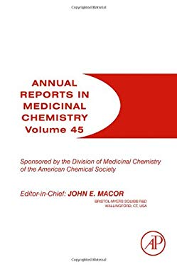 Annual Reports in Medicinal Chemistry 9780123809025