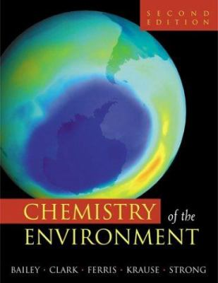 Chemistry of the Environment 9780120734610