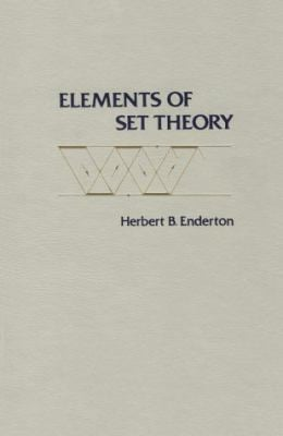 Elements of Set Theory 9780122384400