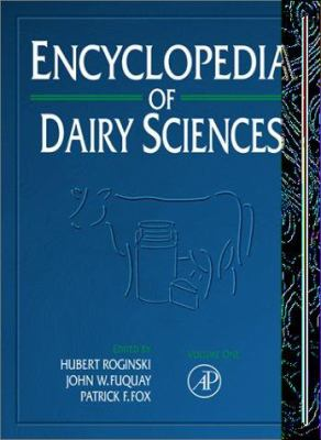 Encyclopedia of Dairy Sciences, Four-Volume Set [With Online Version] 9780122272356