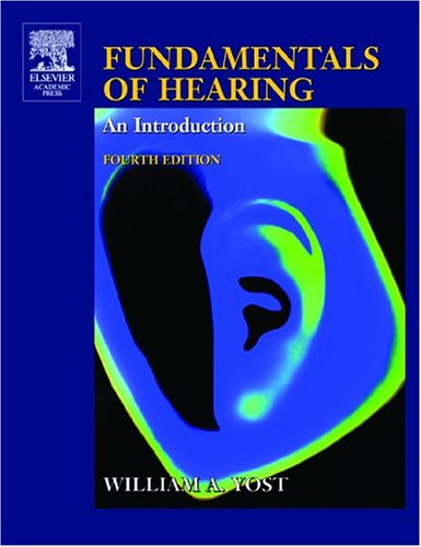 Fundamentals of Hearing: An Introduction 9780127756950