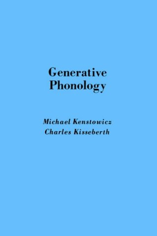 Generative Phonology 9780124051614