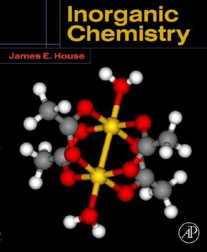 Inorganic Chemistry 9780123567864