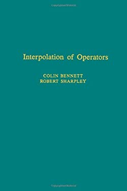 Interpolation of Operators 9780120887309