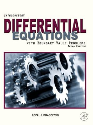 Introductory Differential Equations with Boundary Value Problems 9780123749352