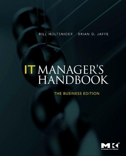 IT Manager's Handbook 9780123751102