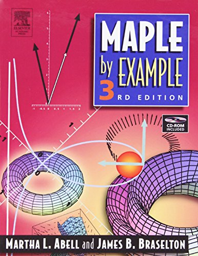 Maple by Example 9780120885268