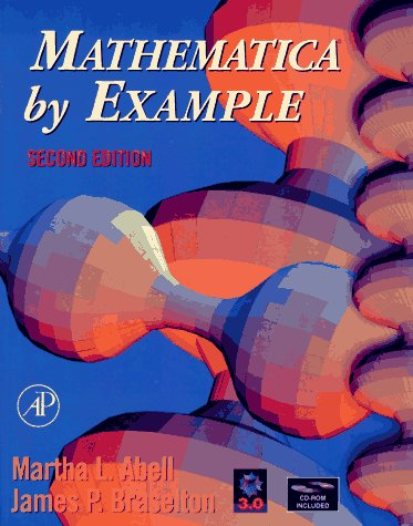 Mathematica by Example [With *] 9780120415526