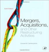 thesis mergers and acquisitions Master thesis finance – aa voesenek – the effects of mergers and acquisitions on firm performance 4 table of contents 1 introduction.