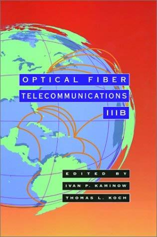 Optical Fiber Telecommunications Iiib 9780123951717