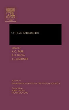 Optical Radiometry 9780124759886
