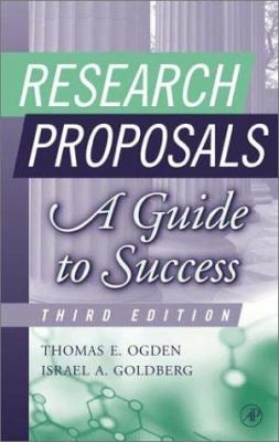 Research Proposals: A Guide to Success 9780125247337