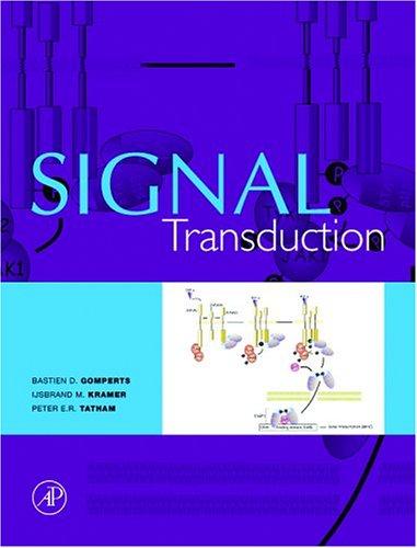 Signal Transduction 9780122896323